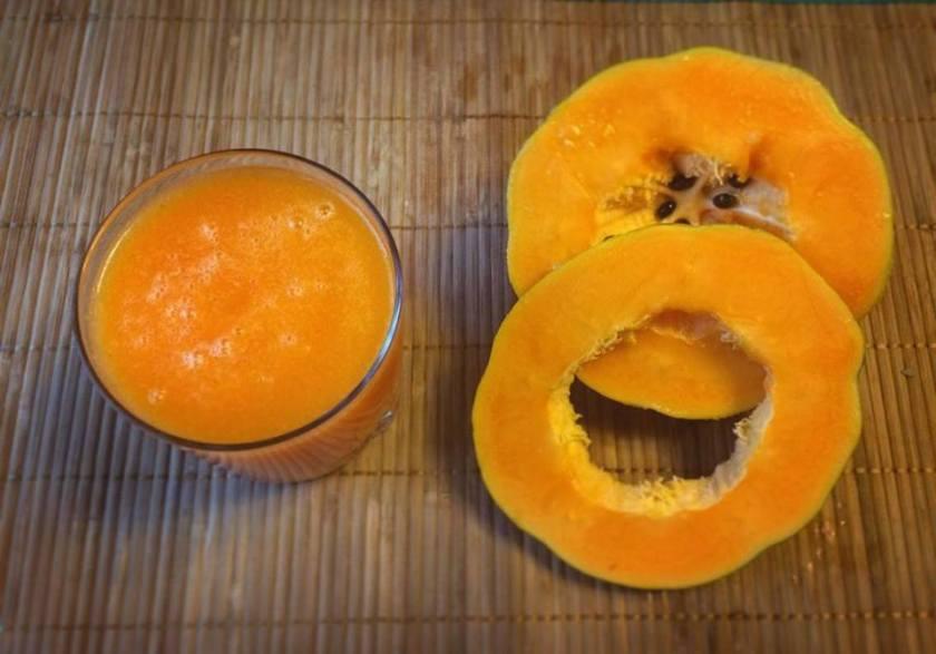 jugo zanahoria y papaya