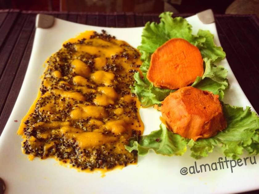 tiradito de quinoa