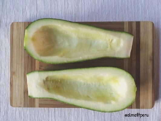 zucchini sin relleno