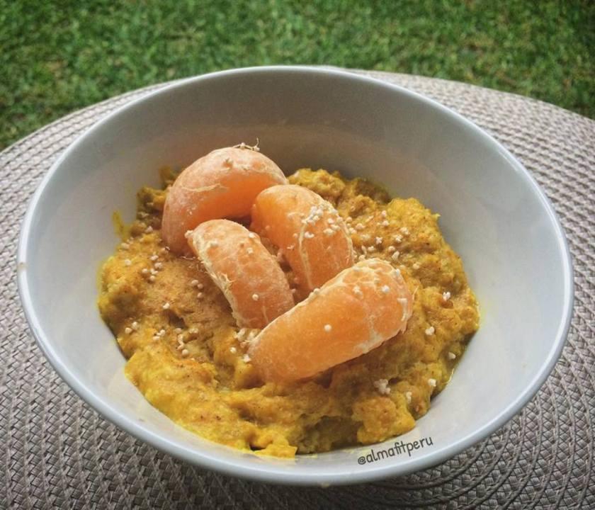 Porridge Dorado de Avena